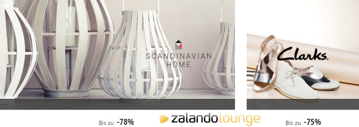 Scandinavian Home und Clarks Rabatte bei Zalando Lounge