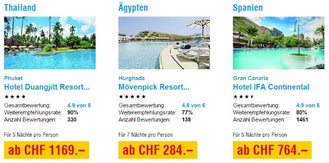 ITS Coop Travel Last Minute Angebote