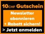 Tirendo CHF 10.- Gutschein