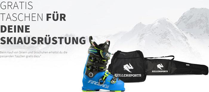 Keller Sports gratis Taschen