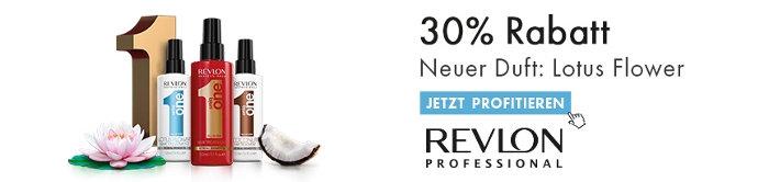 30% Rabatt aif Lotus Flower von Revlon