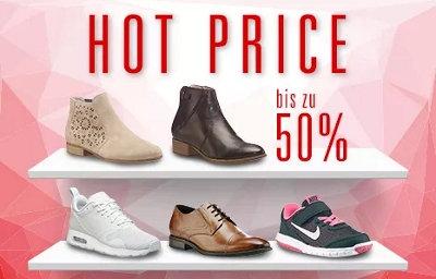Hot Price: Bis zu 50% Rabatt bei Ochsner Shoes