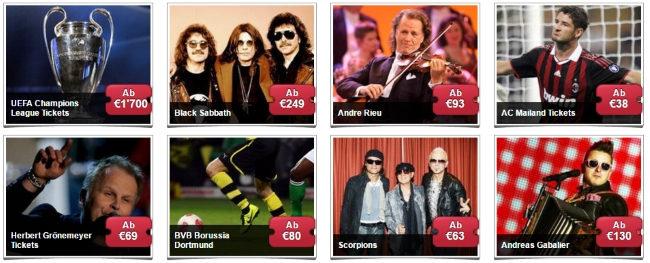 Bei Seatwave Tickets für beliebste Konzerte, Spiele und Shows bestellen