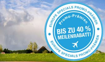 KLM 40% Rabatt