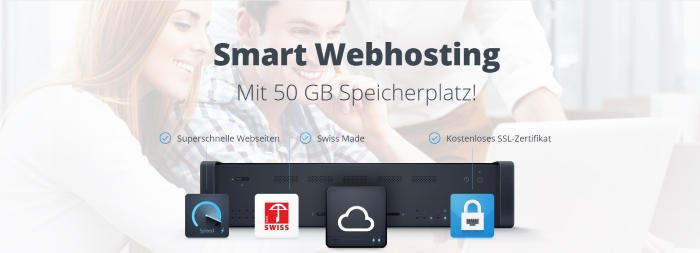 Smart Webhosting bei Hostpoint