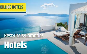 Billige Hotels bei CheapTickets