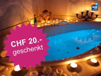 CHF 20.- geschenkt bei Aldi Suisse Tours