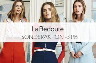 La Redoute Sonderaktion: 31% Rabatt mit dem Gutscheincode!