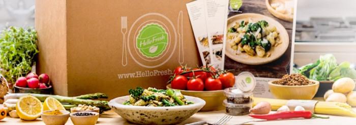 Lebensmittel online bestellen bei HelloFresh