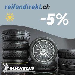 5% Rabatt bei ReifenDirekt.ch