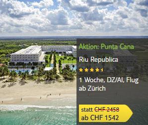 TUI Aktion: Punta Cana reduziert