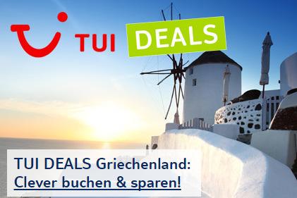 TUI Deals: Clever buchen und sparen!