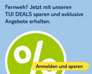 TUI Deals: sparen und exklusive Angebote erhalten