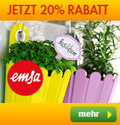 20% Rabatt bei Baldur Garten