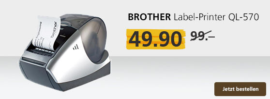 Brother Laber Printer: 50% reduziert