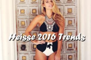 Heisse Bikini Trends für 2016