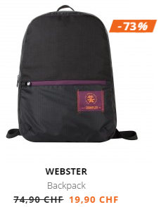 73% Rabatt auf Webster Backpack bei Crumpler