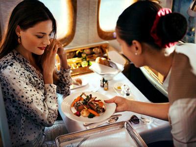 First Class bei Emirates