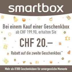 Smartbox CHF 20.- Gutschein