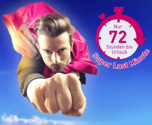 Nur 72 Stunden bis Urlaub - Super Last Minute bei L'TUR