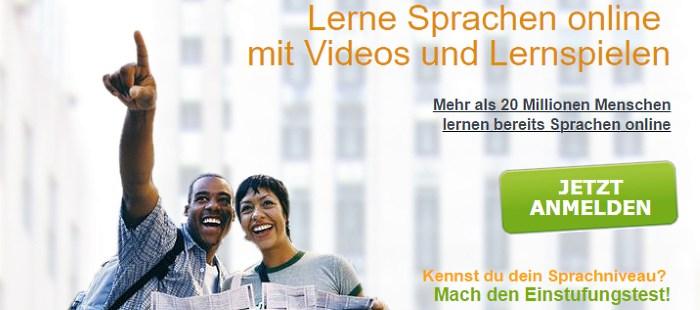 Lerne Sprachen online mit VIdeos und Lernspielen