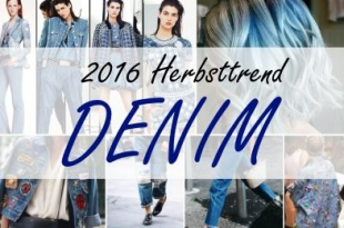2016 Herbsttrend: Denim