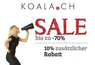 koala.ch Sale - Bis zu 70% Rabatt