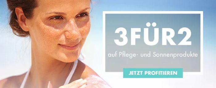 Marionnaud: 3 für 2 auf Pflege und Sonnenprodukte