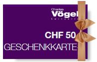 Charles Vögele Geschenkkarte