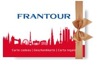Frantour Geschenkkarte