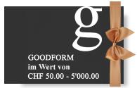 Goodform Geschenkkarte
