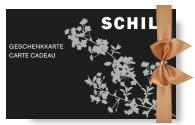 SCHILD Geschenkkarte