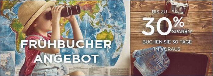 Frühbucher Angebote - Bis zu 30% sparen bei Accorhotels