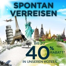 Spontan verreisen: Bis zu 40% Rabatt bei Accorhotels!