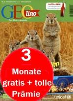 Geolino 3 Monate gratis+ tolle Prämie