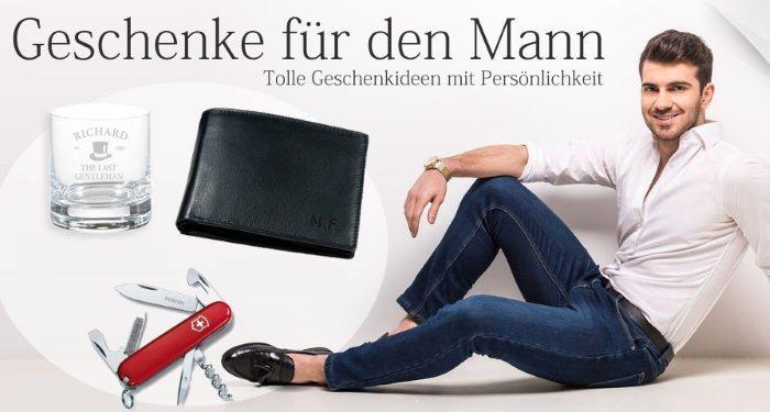 Geschenke für den Mann bei DeineGravur.ch