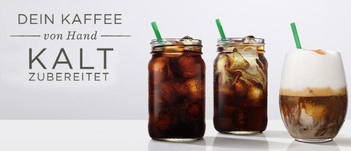 Dein Kaffe von Hand kalt zubereitet - STarbucks