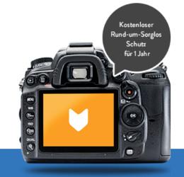Gratis Kameraversicherung bei WeFox