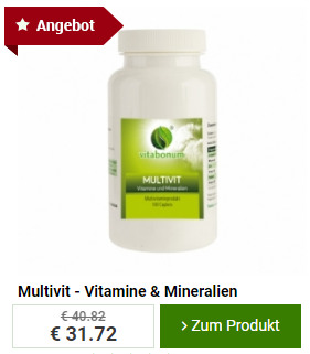Vitabonum Angebot - Vitamine & Mineralien
