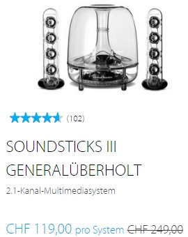 Herman Kardon Sale - Soundsticks III