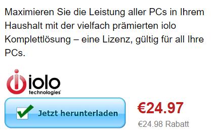 25€ Rabatt bei Iolo