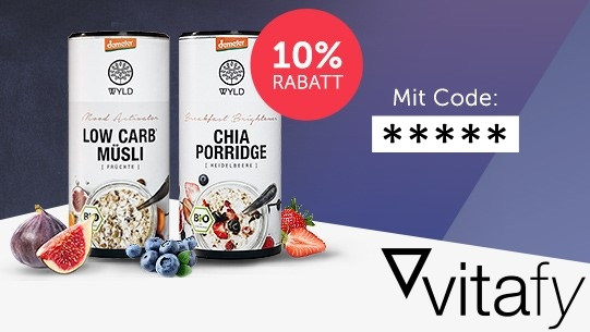 Vitafy 10% Rabatt