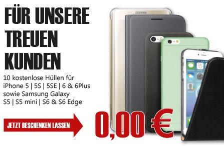 Für unsere treue Kunden: Gratis Handyhüllen bei Orimo