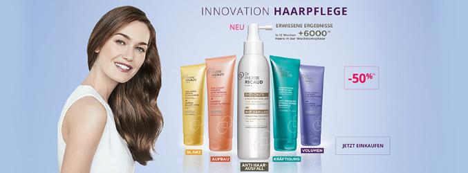 Innovation Haarpflege: 50% Rabatt