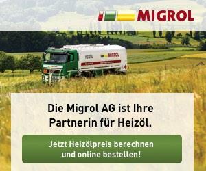 Migrol: partner für Heizöl