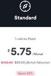 52% Rabatt bei NordVPN