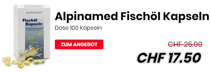 Alpinamed Fischöl Kapseln