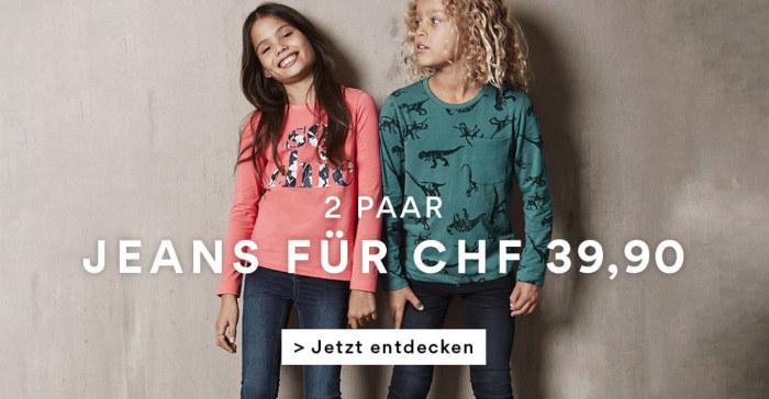 2 paar Jeans für nur CHF 39.90-