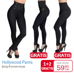 Hollywood pants GRATIS bei Mediashop