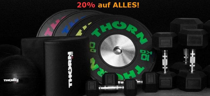 20% Rabatt bei Thorn und Fit